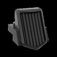 Plate 1x2 w. radiator #50946