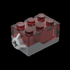FX LIGHT BRICK 2X3X1 1/3 RED #54869